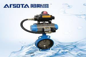 信号蝶阀蜗轮传动装置使用调整及接线方法