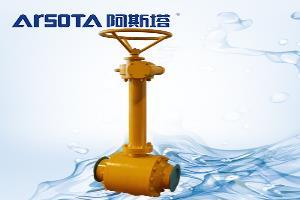 埋地式全焊接球阀安装及日常维护